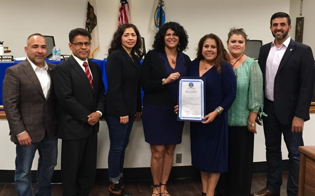 """City of Bell proclaims April as """"Bone Marrow Awareness Month"""" with Sophia's Angels"""