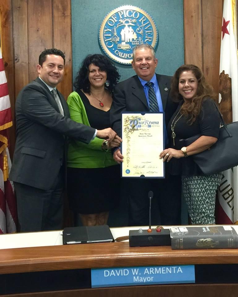 Pico Rivera Bone Marrow Awareness Proclamation