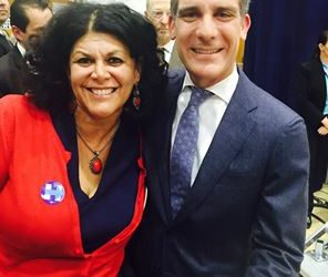 One of our biggest fans… Los Angeles Mayor Eric Garcetti