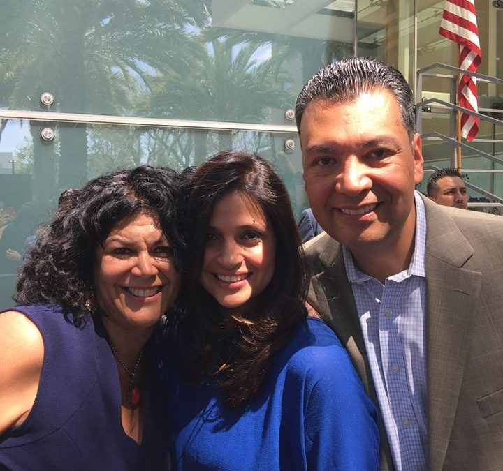Making a difference with California State Secretary, Alex Padilla